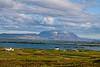 Bláfjall seen from Mývatn, Iceland