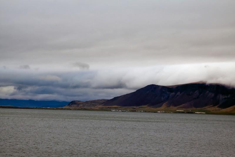 View from Reykjavík harbor