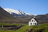 Arnarstapi, Snæfellsnes Peninsula.<br /> This is a fairly typical summer or vacation or weekend house.<br /> <br /> June 16, 2010
