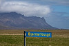 Marking the road to Bjarnarfoss<br /> .<br /> Snæfellsnes Peninsula, Iceland<br /> June 16, 2012