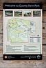 Trail Map interpretive sign; County Farm Park, Ann Arbor