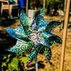 Garden pinwheel