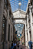 Nickels Arcade, looking westward toward Maynard Street.<br /> <br /> July 12, 2013