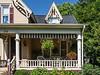 Front porch, Baker-Mabin House, Marshall, Michigan