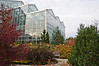 D289-2012 Conservatory buildings surrounded by fall color<br /> .<br /> Frederik Meijer Gardens and Sculpture Park, Grand Rapids, Michigan<br /> October 16, 2012