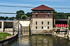 D221-2013  Dam at French Landing for the decommissioned power plant.<br /> <br /> Huron River, Michigan<br /> August 9, 2013