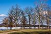 D333-2013  A partially frozen Kent Lake<br /> <br /> West boat launch and picnic area, Kensington Metro Park, Michigan<br /> November 29, 2013