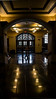 Empty on Commencement Saturday.  Everyone's over at 'The Big House'.<br /> <br /> Main lobby of the Michigan League, looking out the west entrance, which faces the mall and Hill Auditorium and Burton Tower.<br /> University of Michigan Central Campus<br /> Ann Arbor, Michigan'<br /> May 4, 2013
