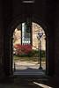 Entry Arch to Colonnade, Law Quad, U. of Michigan