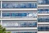 Clouds in windows - C. S. Mott Children's Hospital