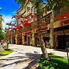 Hawaii, Oahu, Waikiki, Shops On Lewers Street.