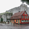 Visby on island of Gotland, Sweden
