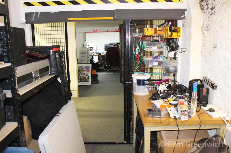 Crixus Studios- Storage Room