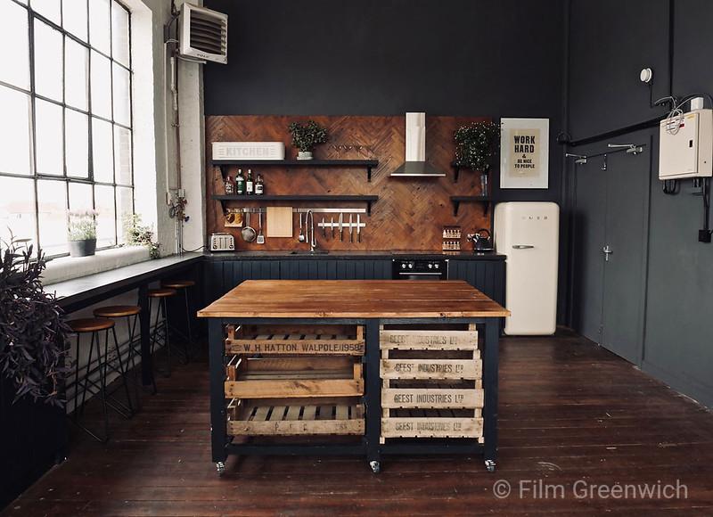 Crixus Studios- Studio Kitchen