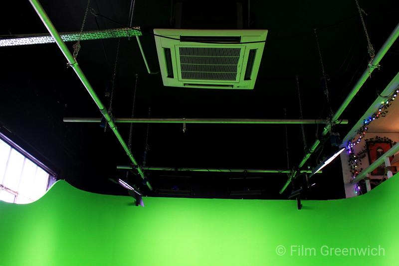 Crixus Studios - Green Cove Studio Ceiling