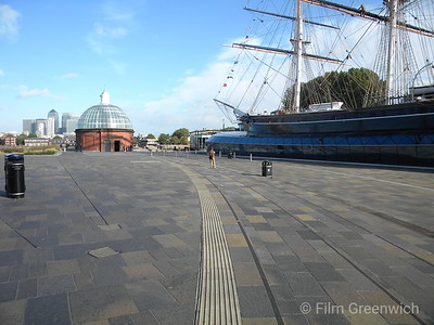 Cutty Sark Gardens, Greenwich Foot Tunnel