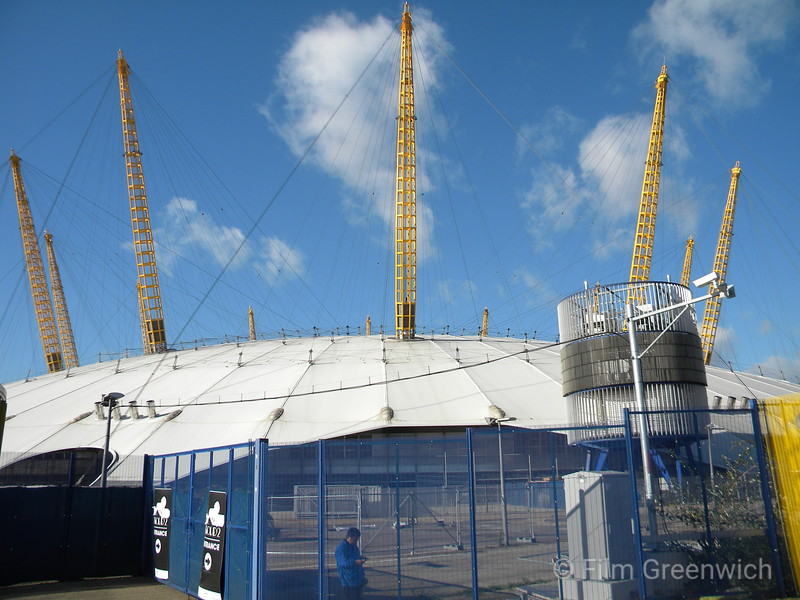 Views from Thames Path - Greenwich Peninsula (East)