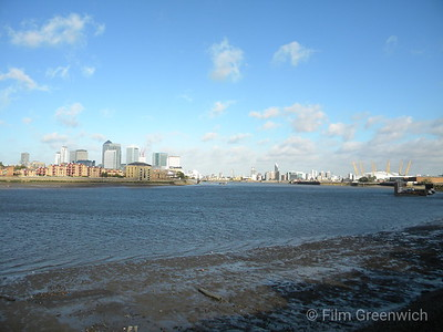 Views from Thames Path - East Greenwich