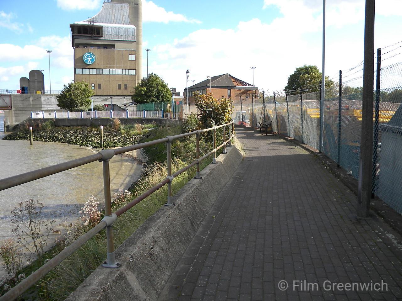 Thames Path - Thames Barrier