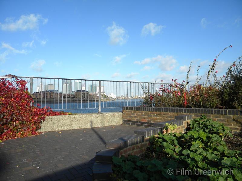Thames Path - East Greenwich