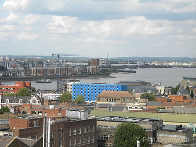 Views from The Woolwich Centre - Terrace