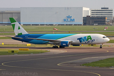 Reg:  CS-TLZOperator:  TMA CargoType:  Boeing 767-375ERF  C/n:  24086 / 248Location:  Amsterdam - Schiphol (AMS / EHAM), NetherlandsPhoto Date:  25 March 2014Photo ID:  1400967
