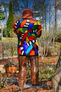1423-Jazz statue