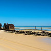 ANother wreck just south of Shark Spit, Moreton Island