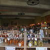 Inside Castle Glen, Stanthorpe. Just a small selection of liqueurs,
