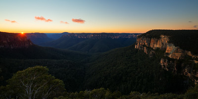 Govetts Leap Sunrise