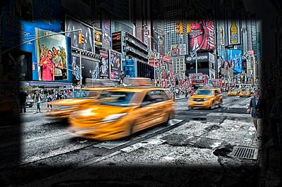 NY Taxi Blur