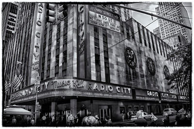 Radio City B&W