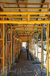 2839-Sidewalk Scaffolding