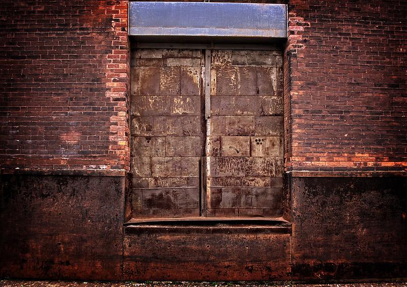 Rusty Wharehouse Door