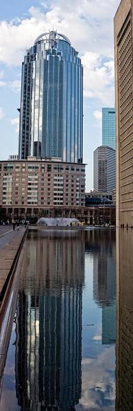 Boston CS Pool & Skyscraper