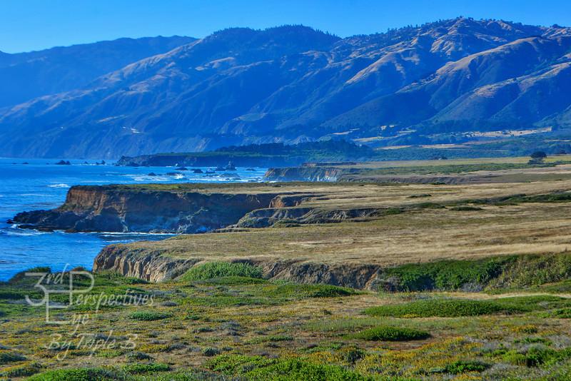 A roadside stop along the California Highway 101, Big Sur Coast