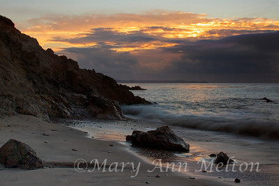 Sunrise at Leo Carillo State Park
