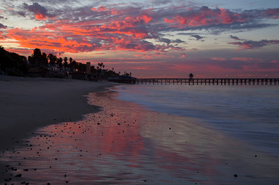 Sunrise at San Clemente, California