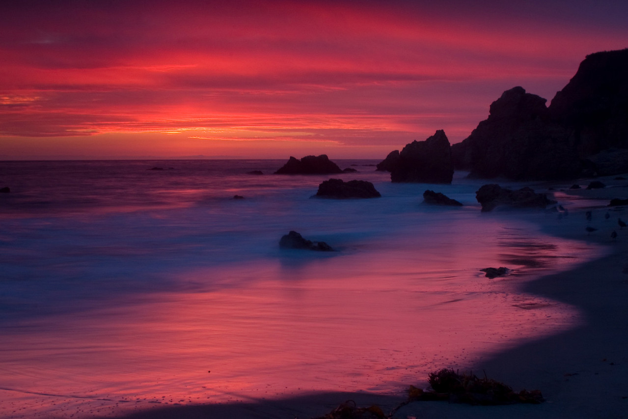 El Matador Beach, Malibu, California