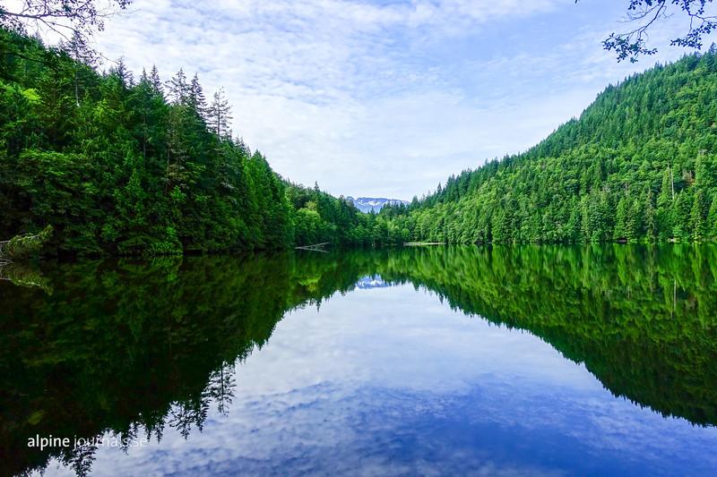 Alice Lake near Squamish, BC