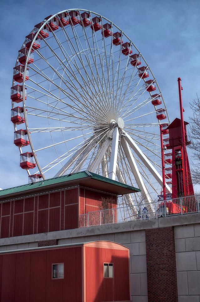 Chicago Navy Pier Farris Wheel