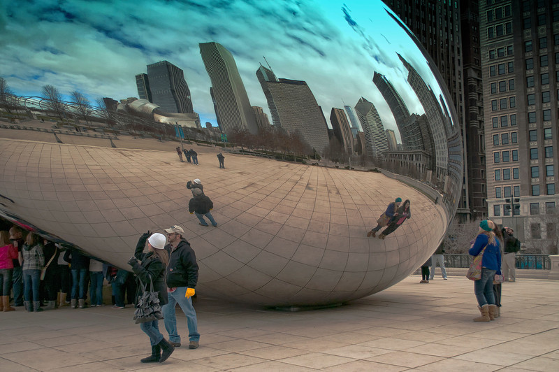 Chicago Bean Reflections1