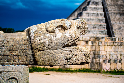 Jaguar Head Sculpture