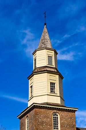 Colonial Williamsburg Church