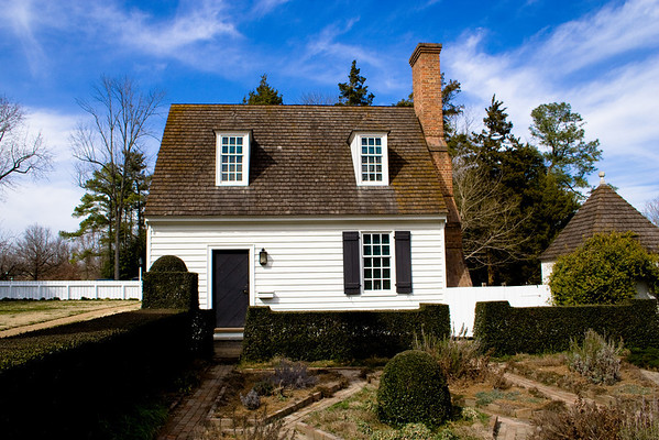 Colonial Williamsburg Little White House