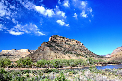 Colorado River Butte