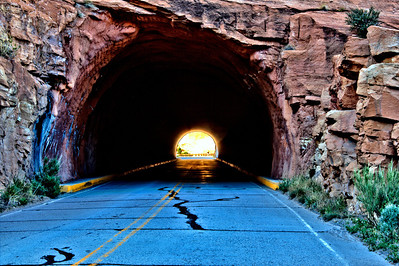 Colorado National Monument Mountain Tunnel