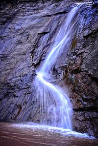 L waterfall