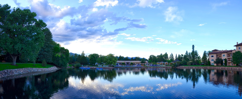 BroadMoor northeast lake view pano