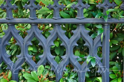 9739-Wrought Iron fence
